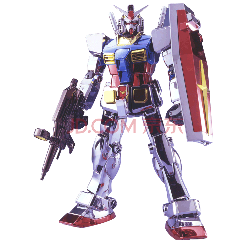bandai-guandam-perfect-grade-rx-78-2-chrome-plated-1:60-toyslife