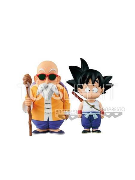 banpresto-dragonball-original-figure-collection-kid-goku-and-master-roshi-pvc-statue-toyslife-icon