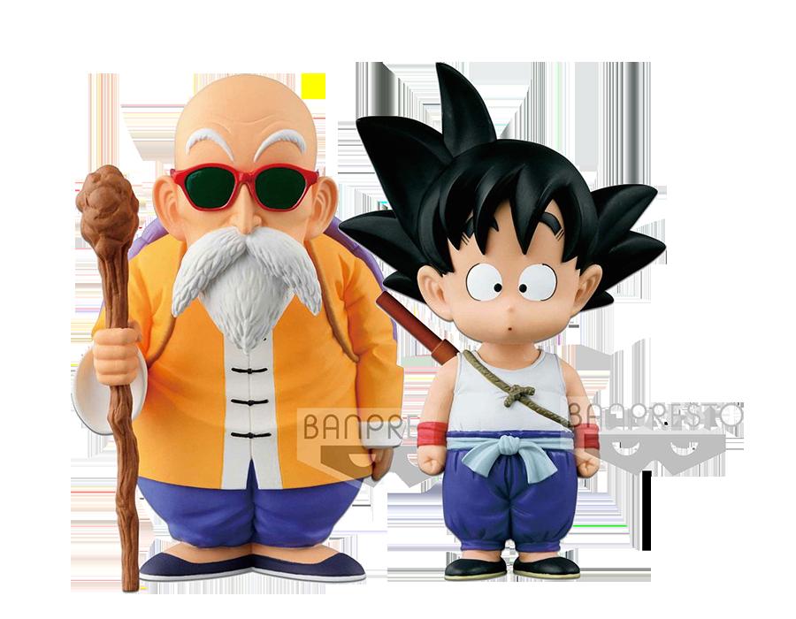 banpresto-dragonball-original-figure-collection-kid-goku-and-master-roshi-pvc-statue-toyslife