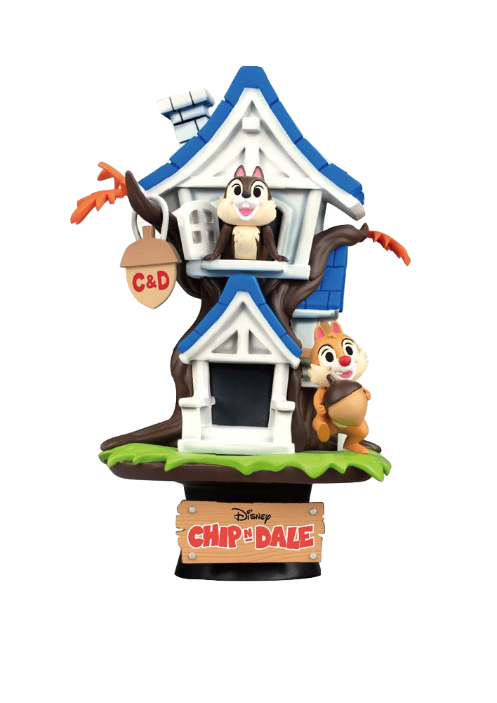 beast-kingdom-disney-summer-series-chip'n-dale-tree-house-pvc-diorama-toyslife