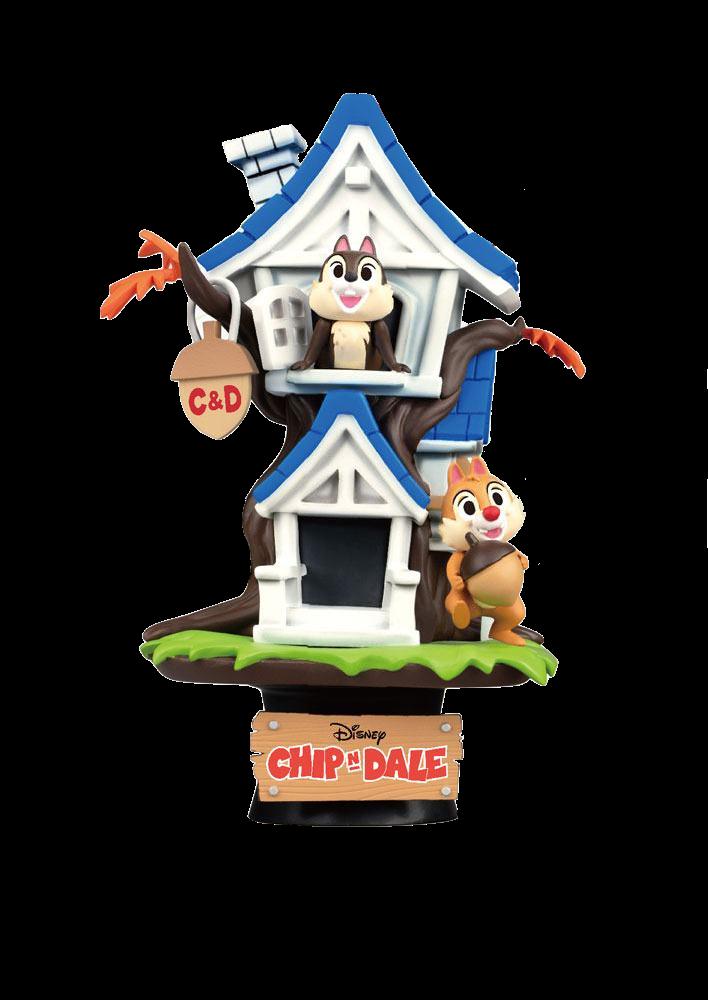 beast-kingdom-disney-summer-series-chip'n-dale-tree-house-pvc-diorama-toyslife