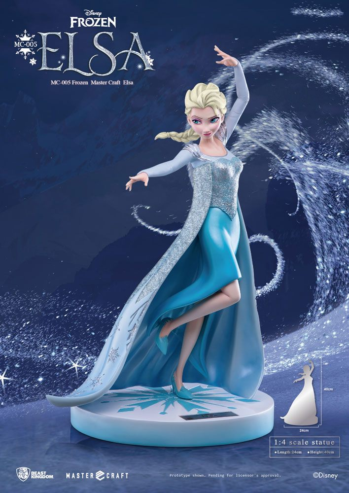 Beast Kingdom Toys Disney Frozen Elsa Of Arendelle 1 4