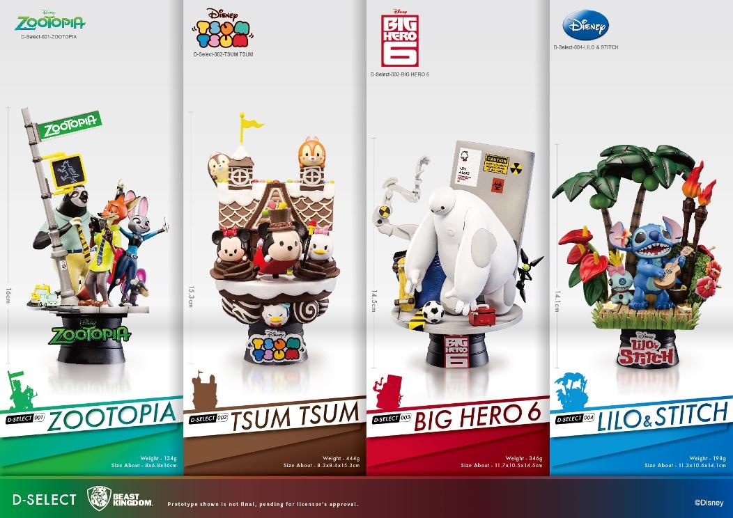 Beast Kingdom Toys Disney Select Lilo Amp Stitch Stitch