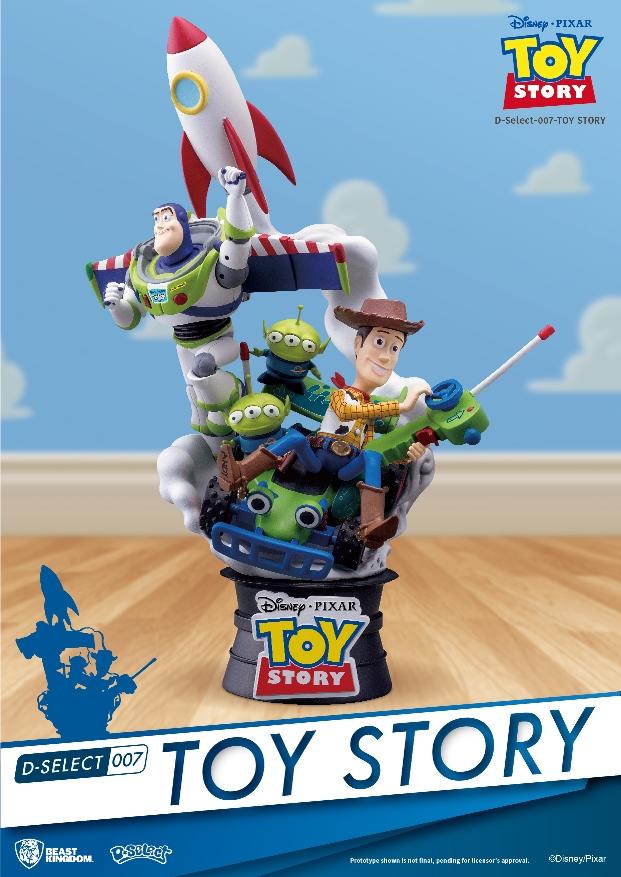 Beast Kingdom Toys Disney Toy Story Diorama Toyslife