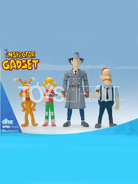 blitzway-5pro-inspector-gadget-1:12-figure-deluxe-set-toyslife-icon