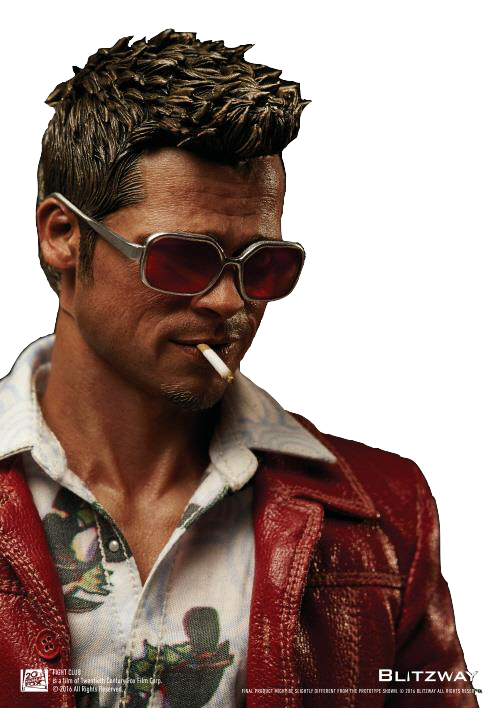 più vicino a grande vendita colori delicati Blitzway Fight Club Tyler Durden Jacket Version 1:6 Figure | TOYSLIFE