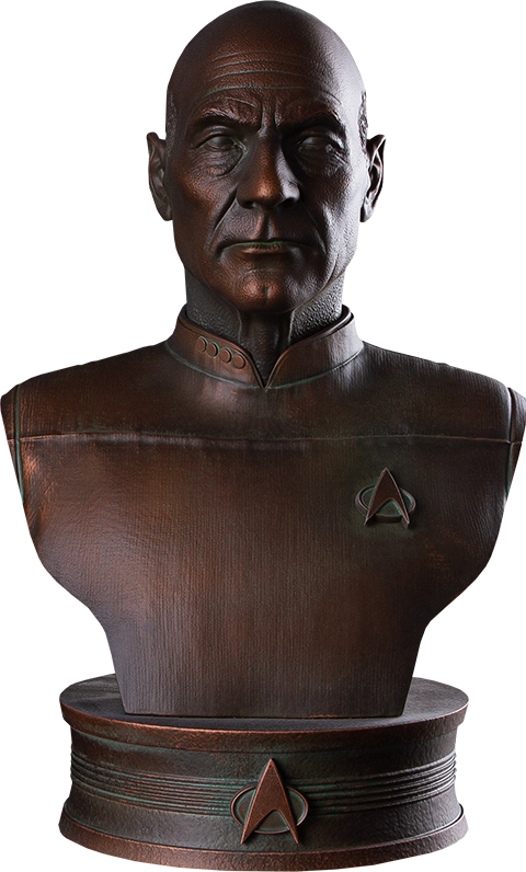 chronicle-collectbiles-star-trek-captain-jean-luc-picard-1:2-bust-toyslife