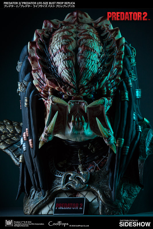 Coolprops Predator 2 Lifesize Bust 1 1 Toyslife