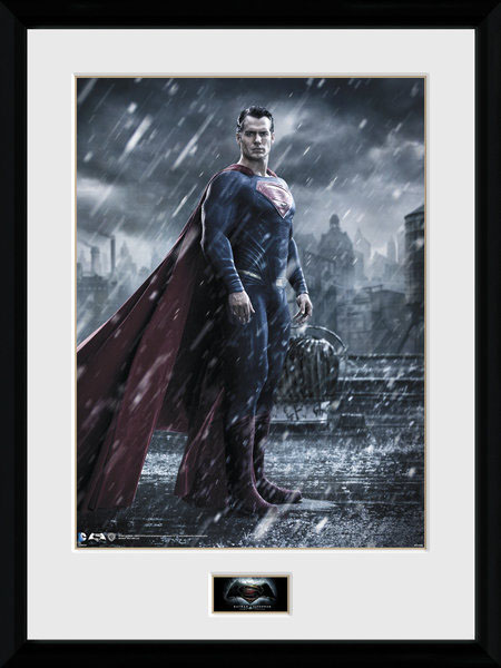 Batman Vs Superman Dawn Of Justice Framed Poster 45x34