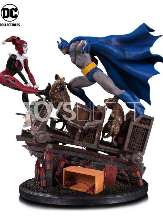 Dc Direct Batman Vs Harley Quinn Battle Diorama Toyslife