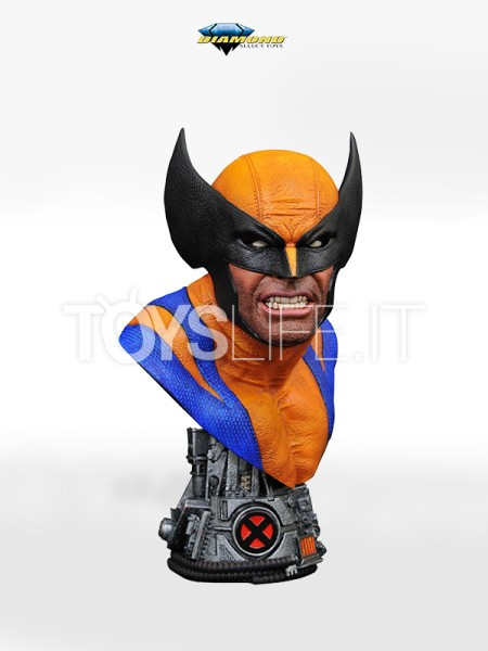 diamond-select-legends-in-3d-marvel-comics-wolverine-1:2-bust-toyslife-icon