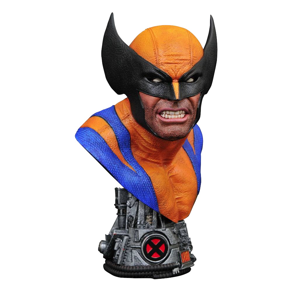 diamond-select-legends-in-3d-marvel-comics-wolverine-1:2-bust-toyslife