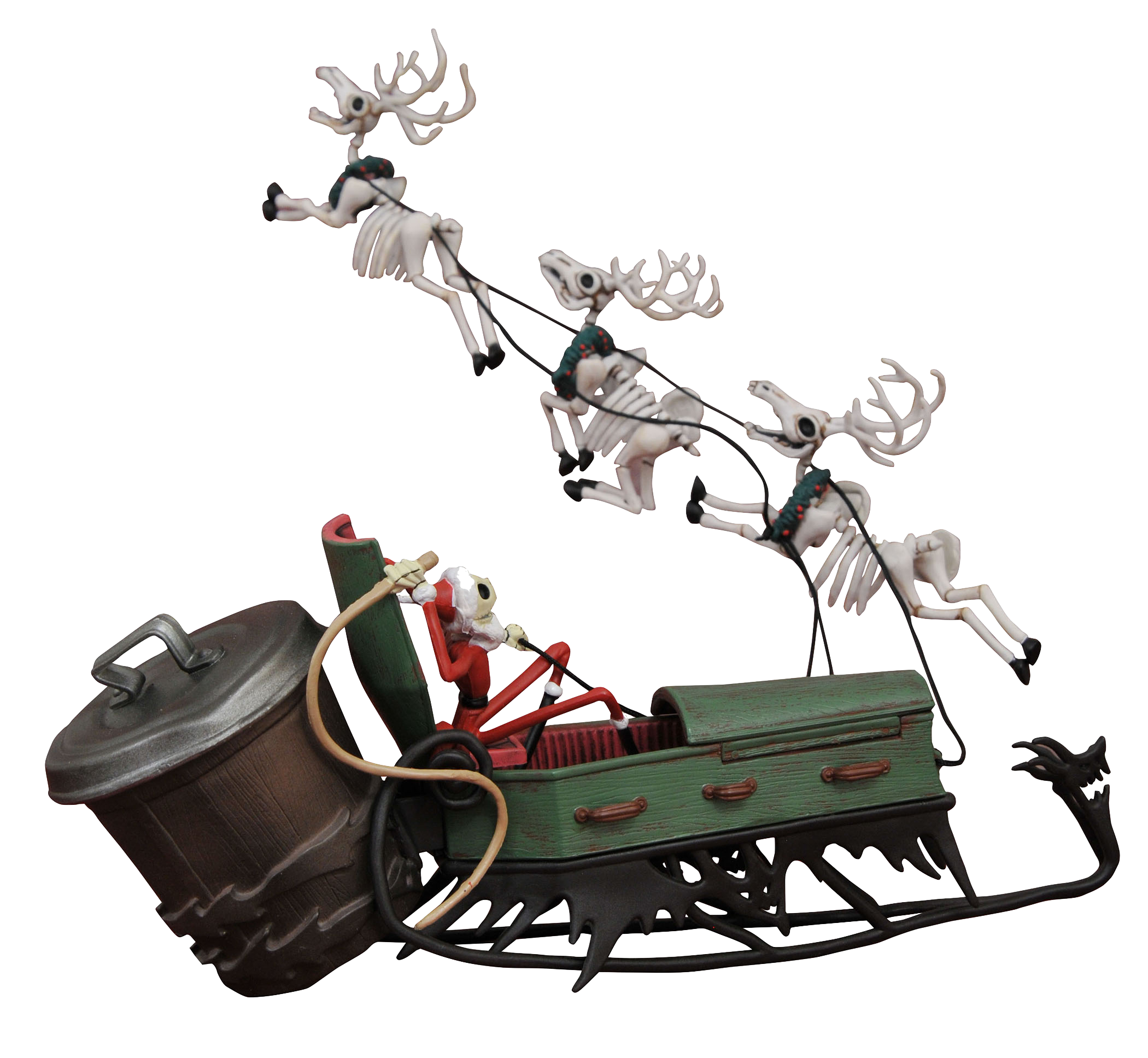 diamond-select-nightmare-before-christmas-santa-jack-in-sleigh-pvc-set-toyslife