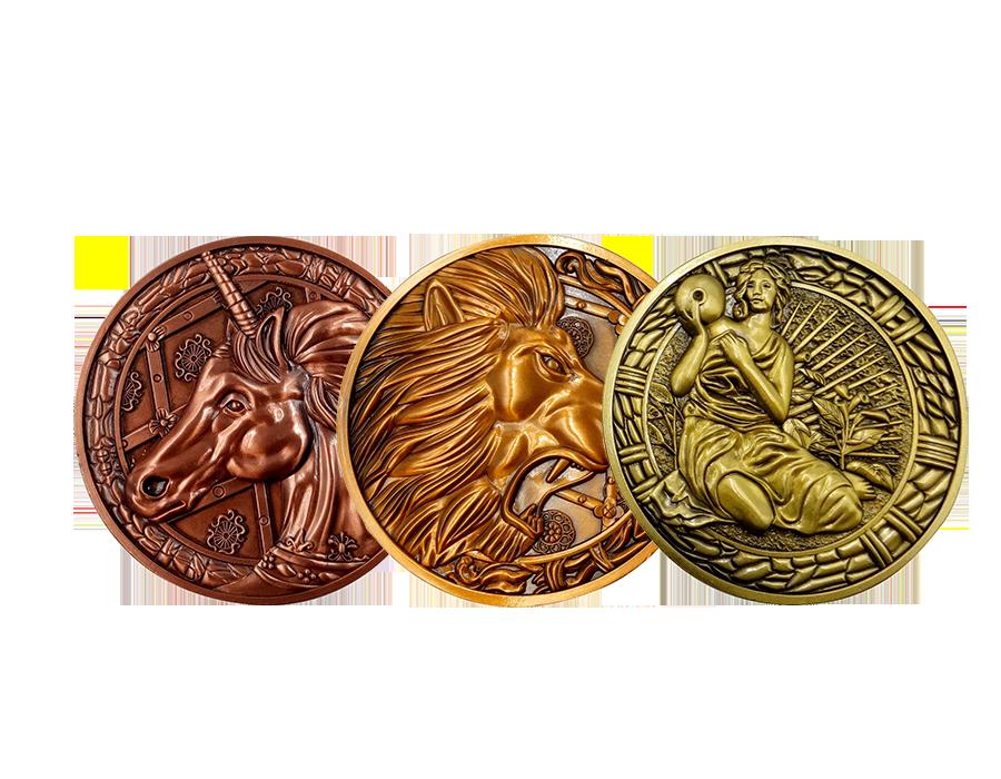 fanattik-resident-evil-2-medallions-1:1-replica-toyslife