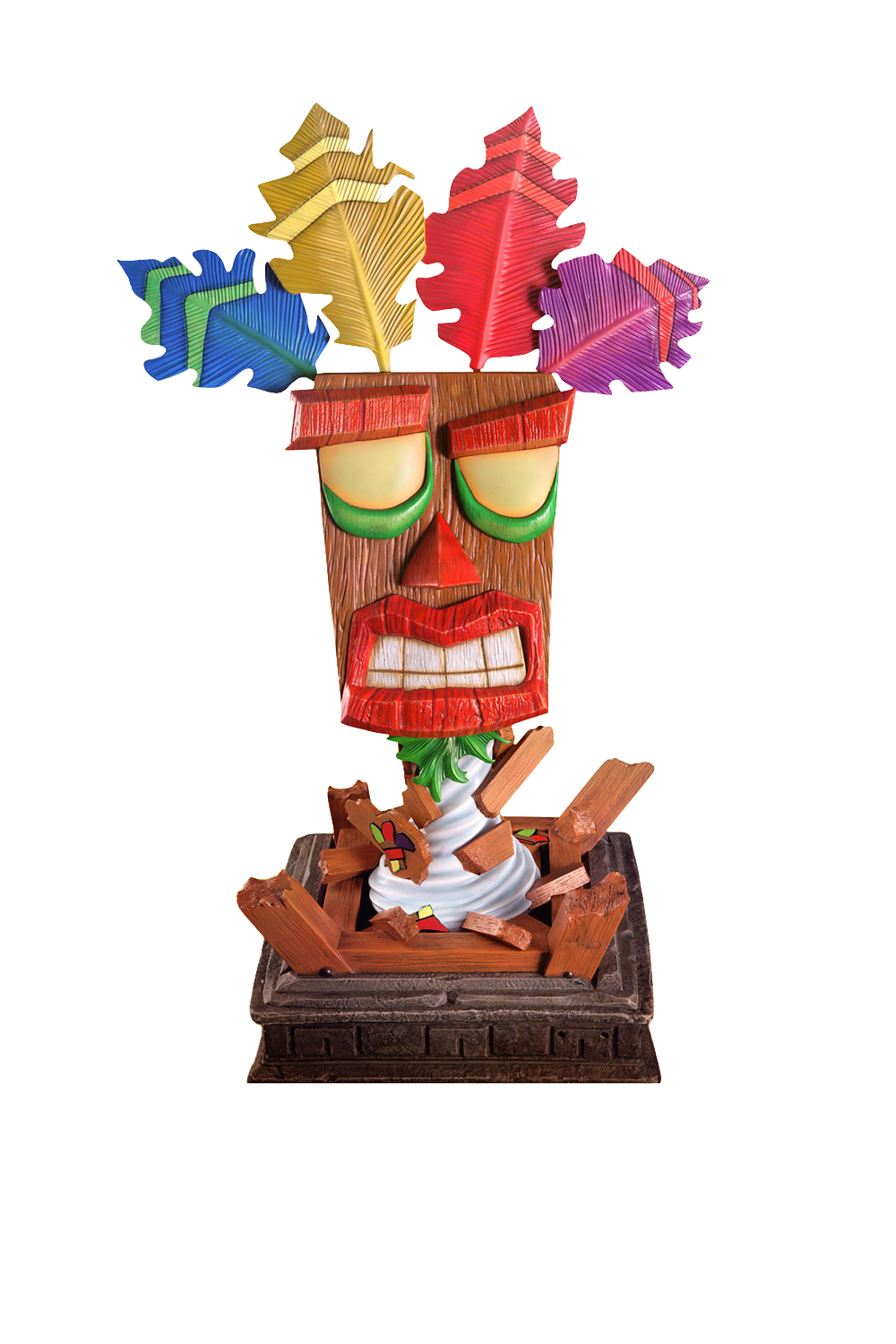 first4figures-crash-bandicoot-aku-aku-mask-lifesize-statue-toyslife