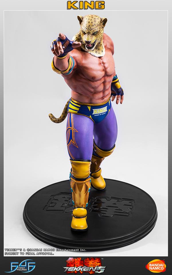 First 4 Figures Tekken 5 King 1 4 Statue Toyslife