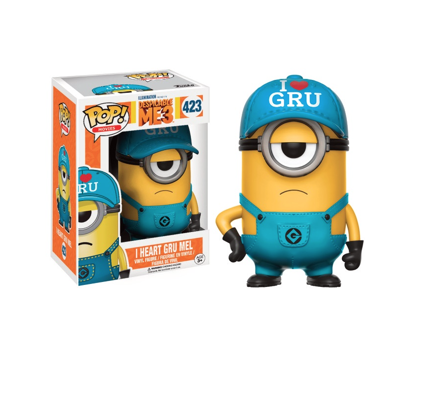 Funko Movies Despicable Me 3 Jail Minion Amp I Heart Gru Mel