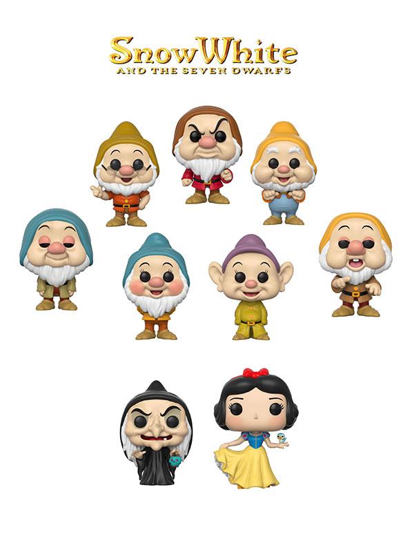 Funko Disney Snow White Snow white Seven Dwarfs & Witch Wave 2017