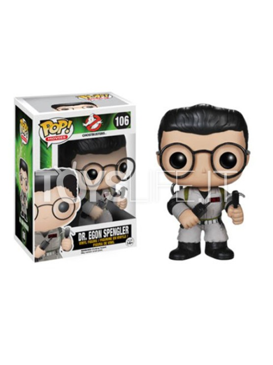 Funko Movies Ghostbusters Dr Egon Spengler 106 Toyslife