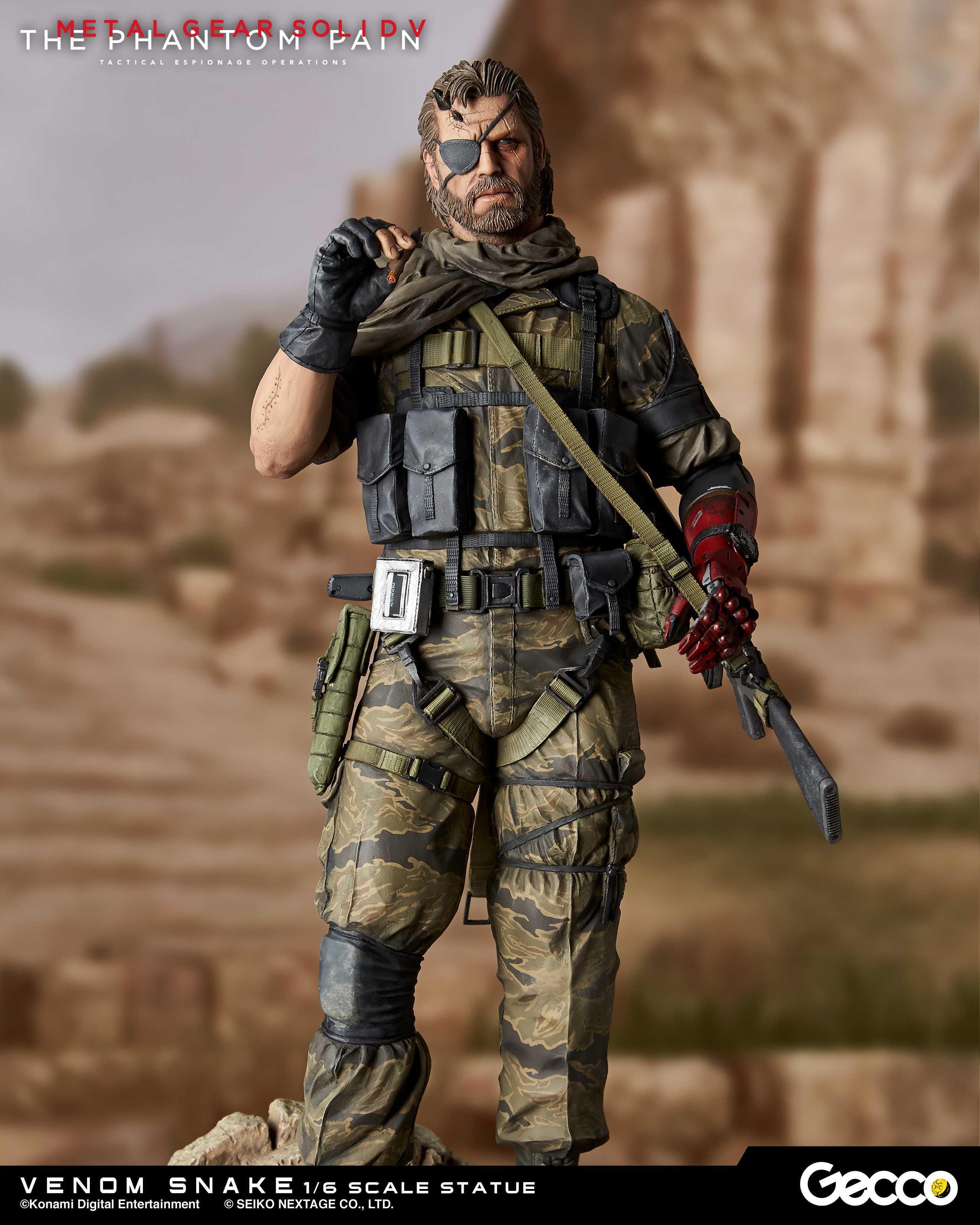 Gecco Metal Gear Solid V The Phantom Pain Snake Venom