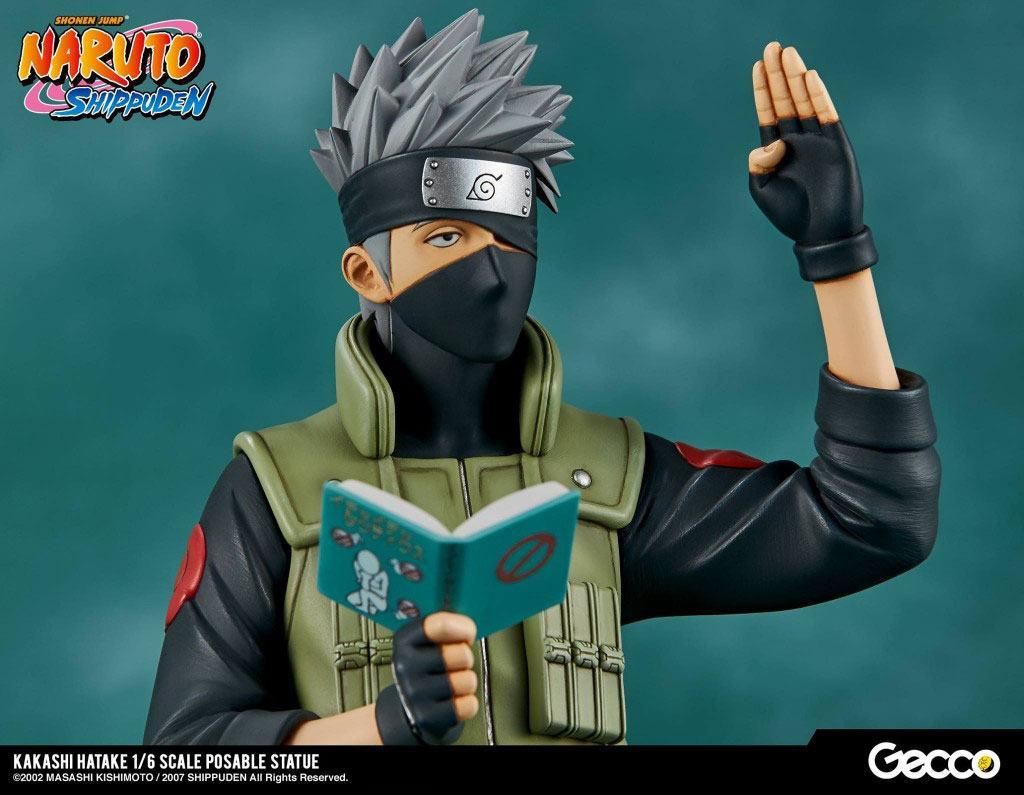 Gecco Naruto Shippuden Kakashi Hatake 1 6 Statue Toyslife