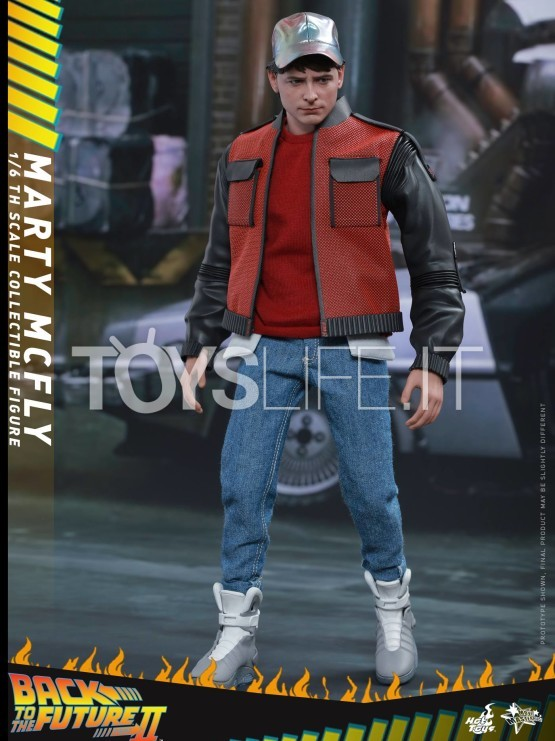 Hot Toys Back To The Future Ii Marty Mcfly 1 6 Figure