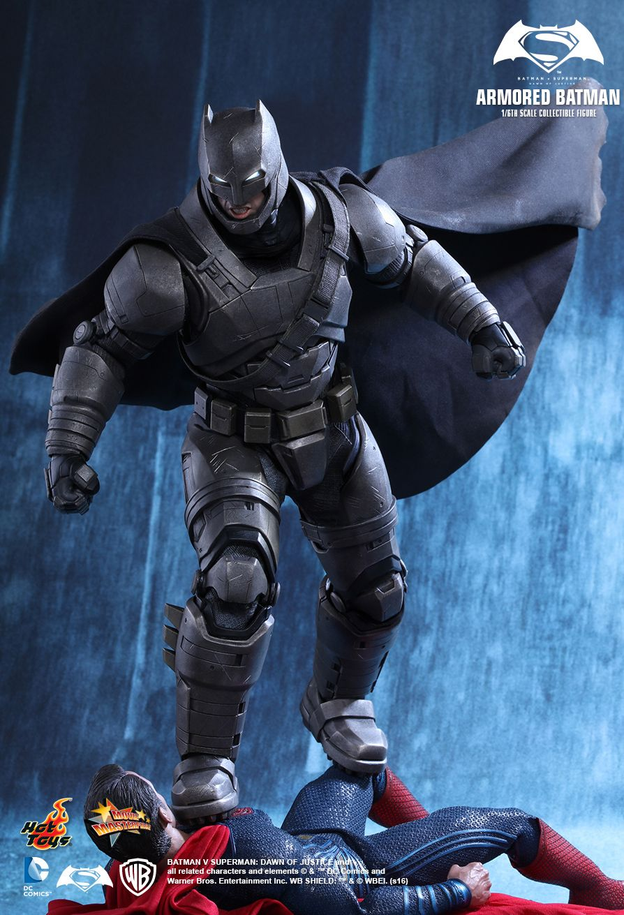 Hot Toys Dawn Of Justice Batman Armored 1 6 Figure Toyslife