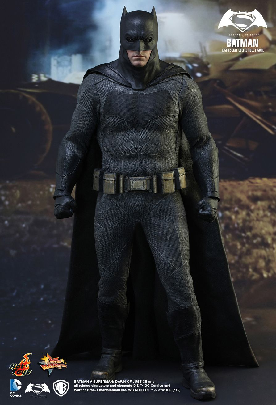 Hot Toys Dawn Of Justice Batman 1 6 Figure Toyslife