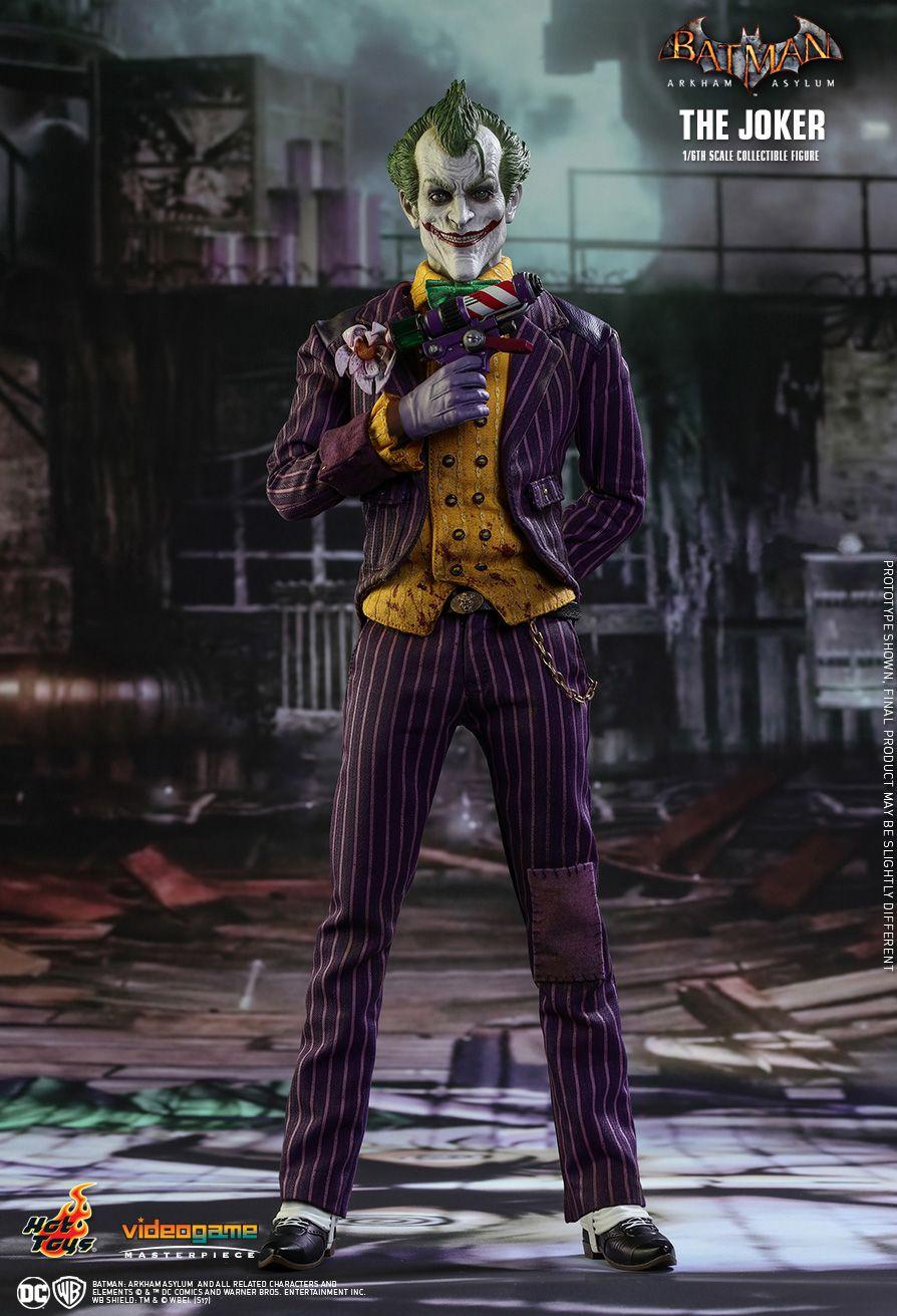 Hot Toys Batman DC Comics Arkham Asylum Big Size Super Hero Action Figure 50CM