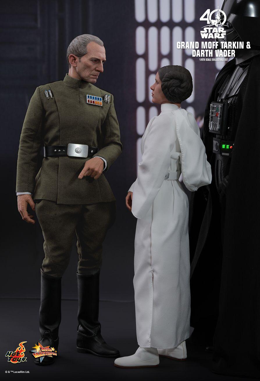 Hot Toys Star Wars Grand Moff Tarkin Amp Darth Vader 1 6