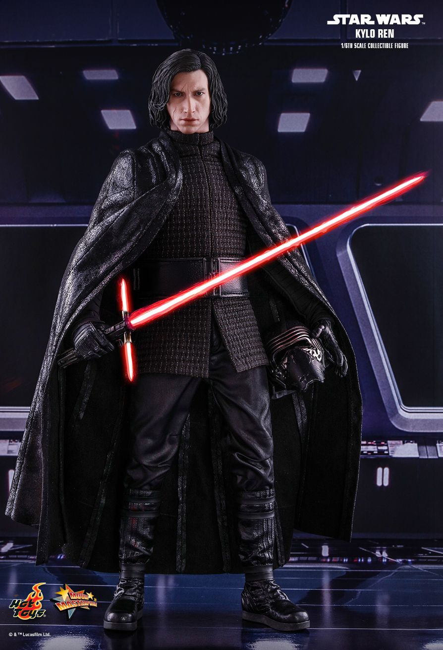 Hot Un Stock >> Hot Toys Star Wars The Last Jedi Kylo Ren 1:6 figure ...