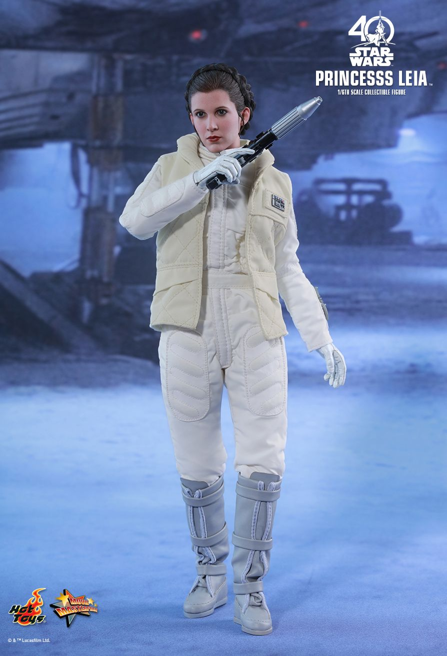 Hot Toys Empire Strikes Back Princess Leia 1 6 Figure