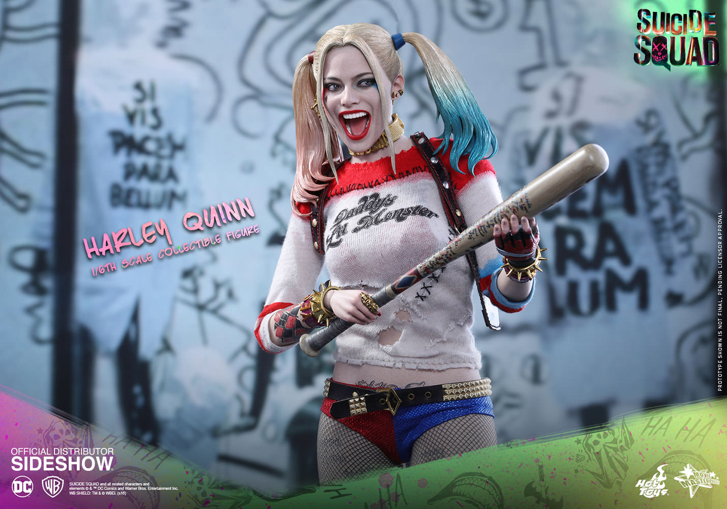 Hot Toys Suicide Squad Harley Quinn 1 6 Figure Toyslife