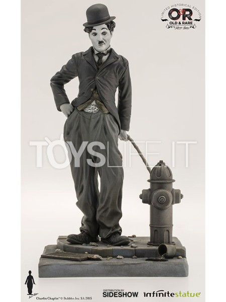 infinite-statue-old-&-rare-charlie-chaplin-the-tramp-statue-toyslife-icon