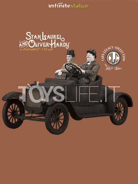 infinite-statue-old&rare-laurel-and-hardy-on-model-t-1_12-statue-toyslife-icon