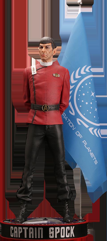 infinite-statue-star-trek-2-wrath-of-khan-leonard-nimoy-as-captain-spock-1:3 statue-toyslife