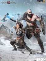 iron-studios-god-of-war-kratos-&-atreus-deluxe-110-statue-toyslife-icon