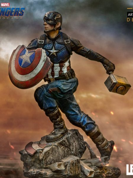iron-studios-marvel-avengers-captain-america-1:10-deluxe-statue-toyslife-icon