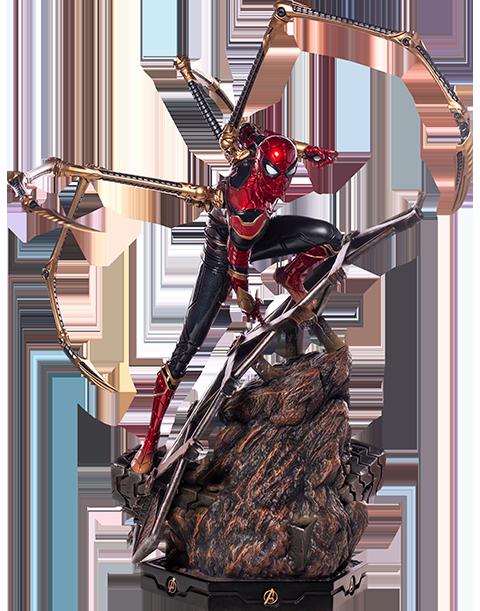 iron-studios-marvel-avengers-infinity-war-ironspider-1:4-statue-toyslife