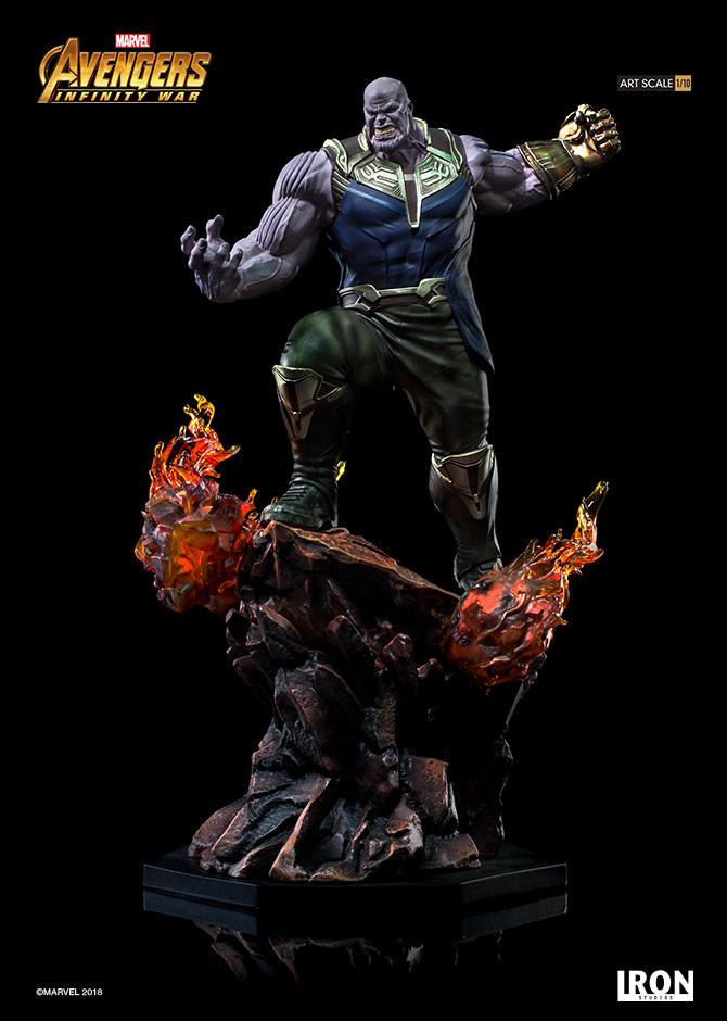 Iron Studios Marvel Avengers Infinity War Thanos 1 10