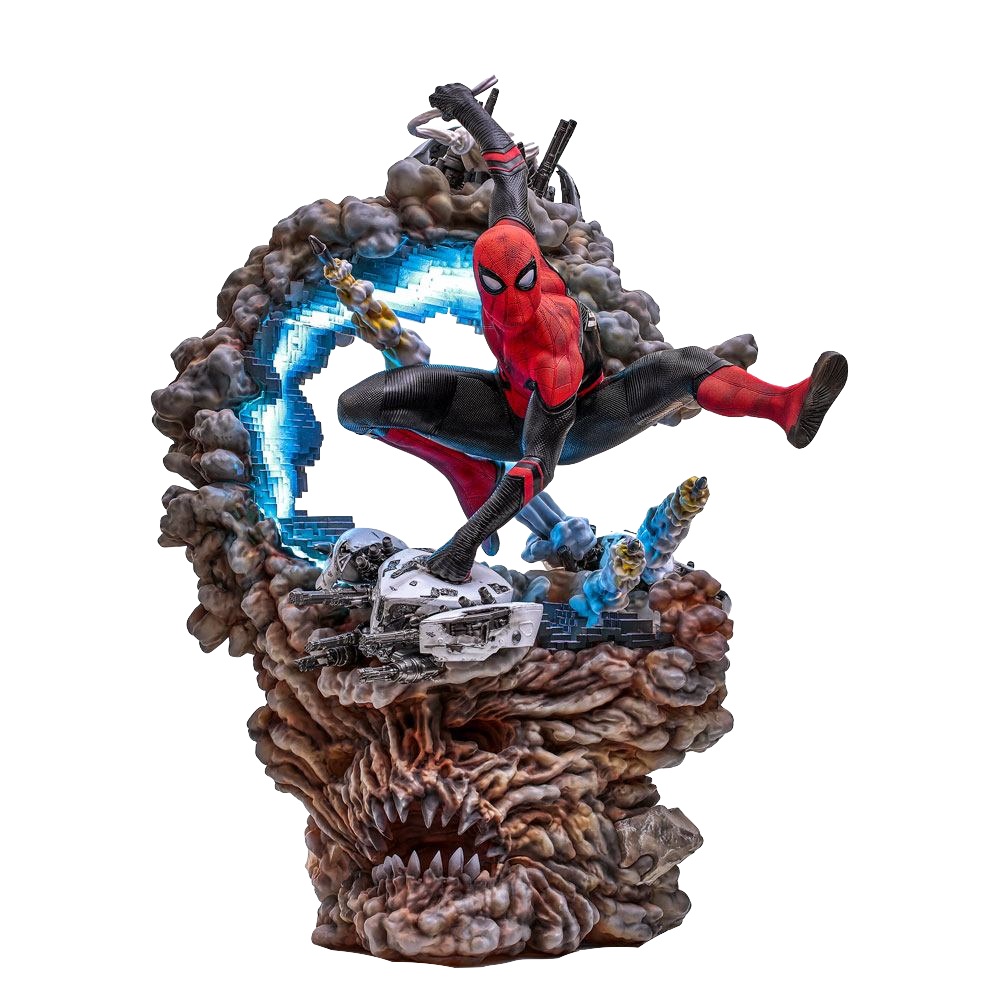 iron-studios-marvel-spiderman-far-from-home-spiderman-1:4-statue-toyslife