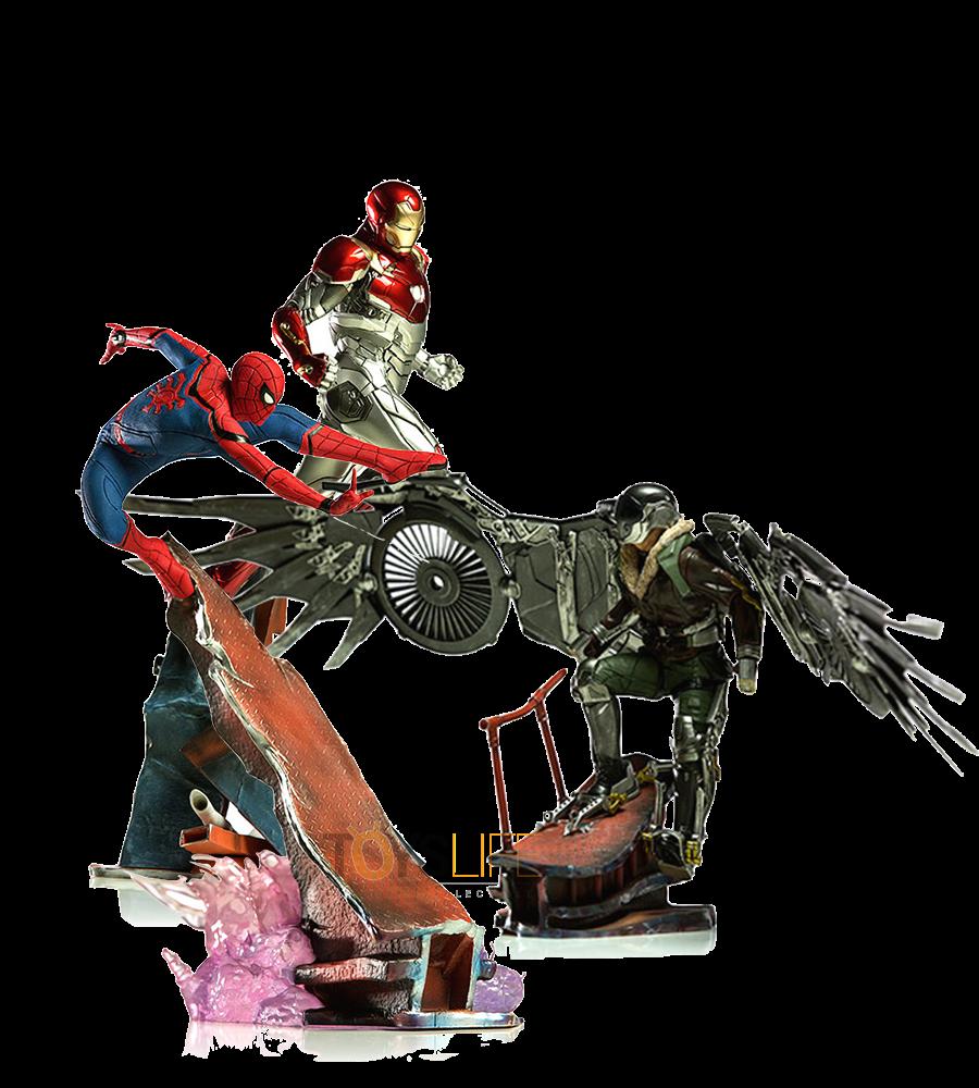 iron-studios-marvel-spiderman-homecoming-diorama-toyslife