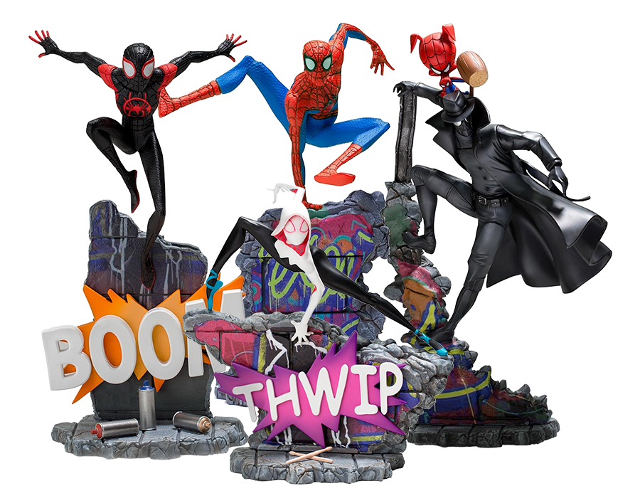 iron-studios-marvel-spiderman-into-the-spiderverse-1:10-deluxe-statue-toyslife