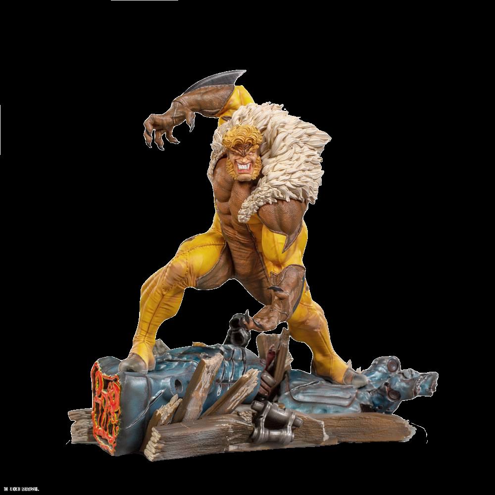 iron-studios-x-men-sabretooth-1:10-statue-toyslife