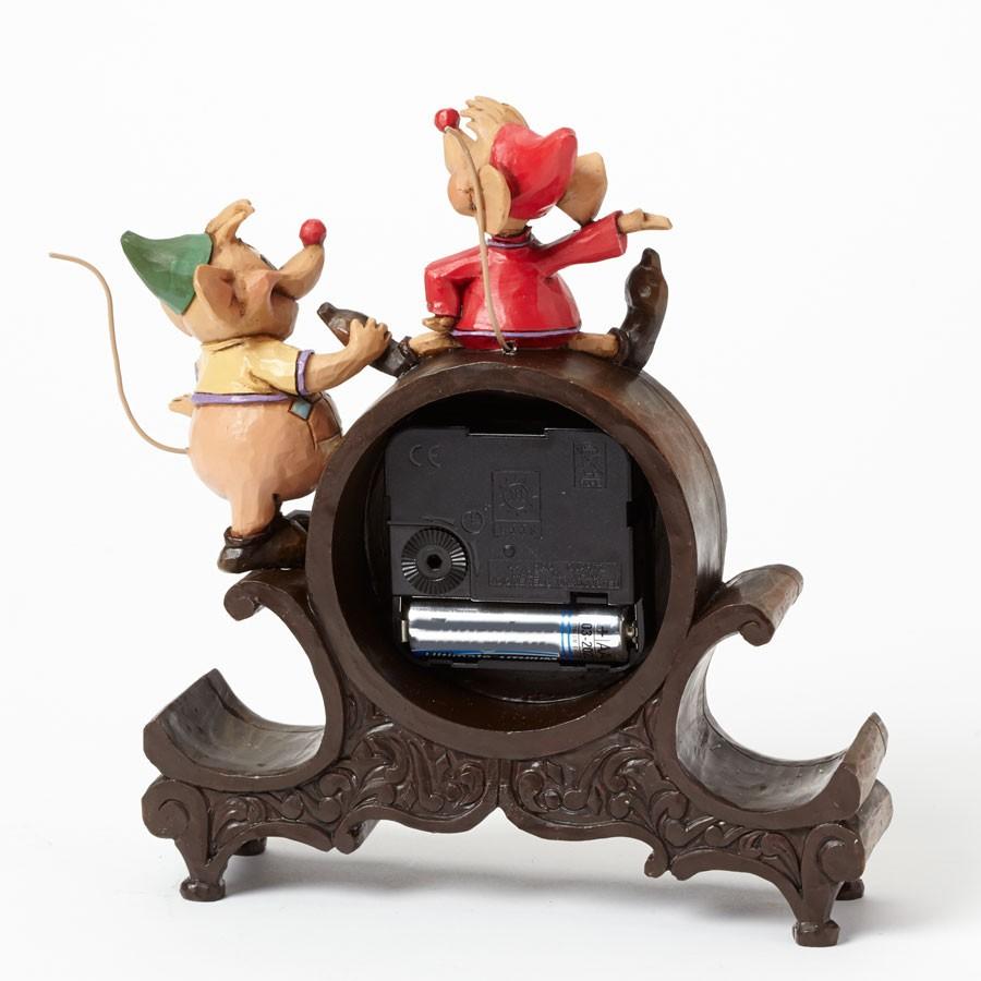 Jim shore disney traditions jaq gus clock orologio da for Orologio da tavolo thun