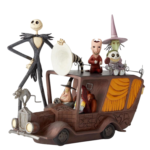 jim-shore-disney-traditions-nightmare-before-christmas-jack-skellington-on-mayor's-car-toyslife