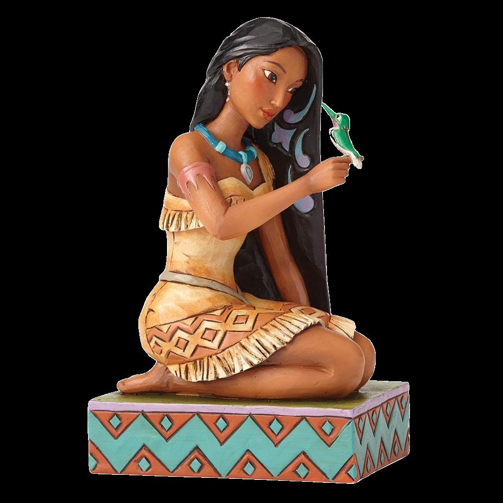 jim-shore-disney-traditions-pocahontas-with-bird-toyslife