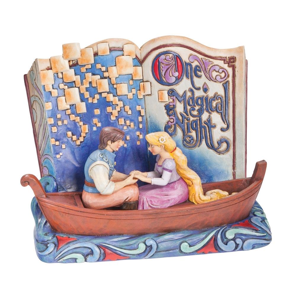 Jim Shore Disney Traditions Rapunzel Storybook