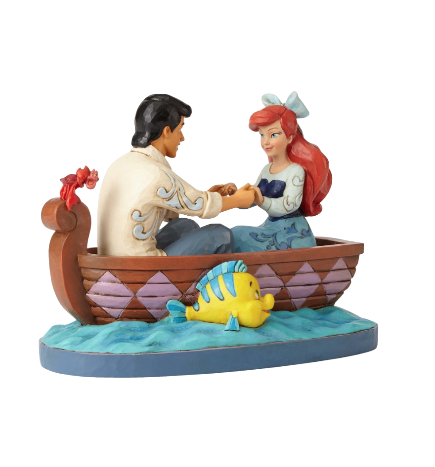 jim-shore-disney-traditions-the-little-mermaid-ariel-eric-on-boat-toyslife
