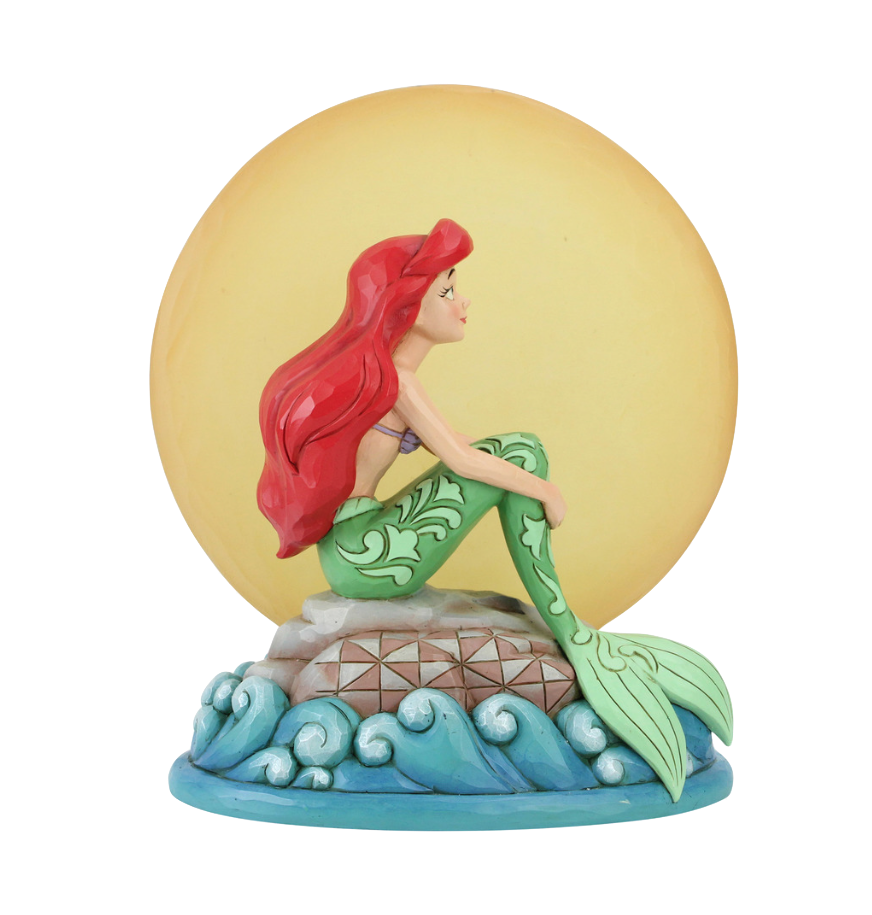 jim-shore-disney-traditions-the-little-mermaid-ariel-with-light-up-moon-toyslife